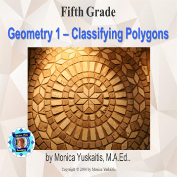 Common Core 5th - Geometry 1 - Classifying Polygons