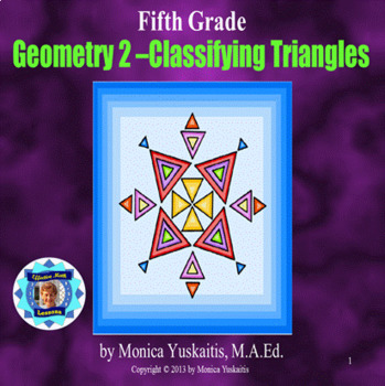 Common Core 5th - Geometry 2 - Classifying Triangles