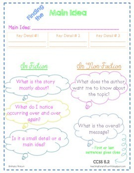 Common Core {5th Grade ELA} Posters and Resource Sheets {FREEBIE}