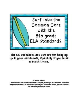 Common Core 5th Grade ELA Standards