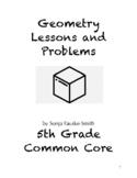 Common Core 5th Grade Geometry Lessons