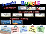 Common Core 5th Grade Math Bundle Geometry, Measurement, Algebraic Thinking