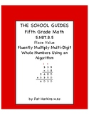 Common Core 5th Grade Multiply Multi-Digit Whole Numbers 5