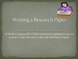 Common Core 5th Grade:  Writing an Informative/Explanatory