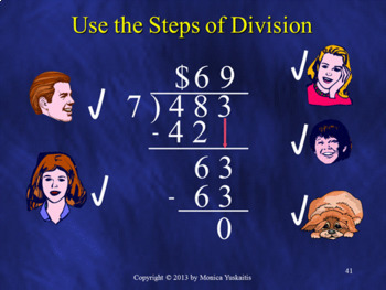 Common Core 5th - Long Division Bundle - 7 Lessons - 323 Slides