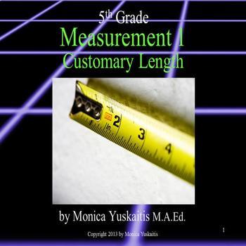 Common Core 5th - Measurement 1 - Customary Length