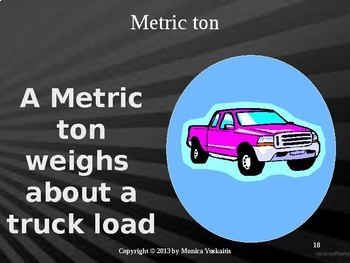 Common Core 5th - Measurement 4 - Metric Weight (Mass)