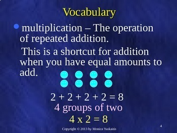 Common Core 5th - Multiplication 1 - Multiplying 3 or 4 Digits by 1 Digit