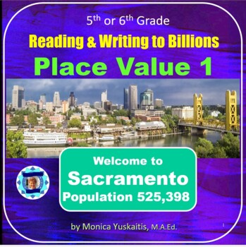 Common Core 5th - Place Value 1 - Reading & Writing to Trillions