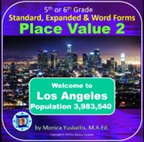 5th Grade Place Value 2 - Standard, Expanded & Word Forms Powerpoint Lesson