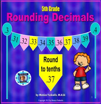 Common Core 5th - Rounding Decimals