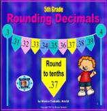 5th Grade Rounding Decimals Powerpoint Lesson