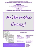 Common Core 6 Math Student Reference Guide