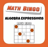 Common Core 6EE2 Algebraic Expressions Bingo
