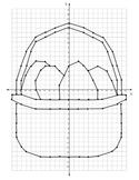 Common Core 6.NS.6: Easter Theme Coordinate Plane Graphing Activity