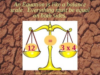 Common Core 6th - Algebra 4 - Solving Equations w Multiplication & Division