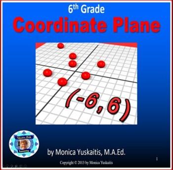 Common Core 6th - Coordinate Plane