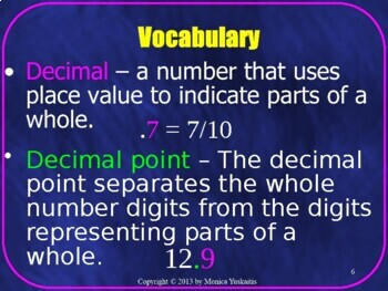 Common Core 6th - Decimals 2 - Addition and Subtraction of Decimals