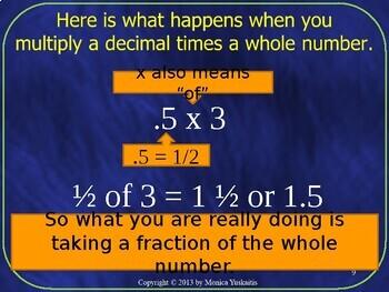 Common Core 6th - Decimals 3 - Multiplying Decimals