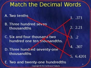 Common Core 6th - Decimals 4 - Dividing Decimals by Whole Numbers