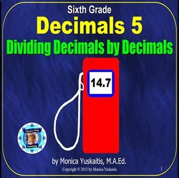 Common Core 6th - Decimals 5 - Decimals Dividing Decimals