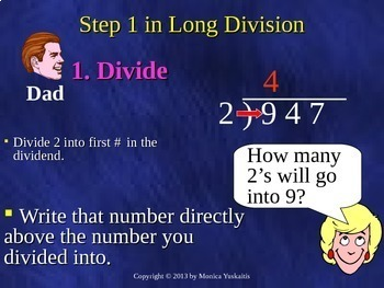 Common Core 6th - Division 1 - Long and Short Division with Remainder