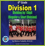 6th Grade Division 1 - Long and Short Division with Remain