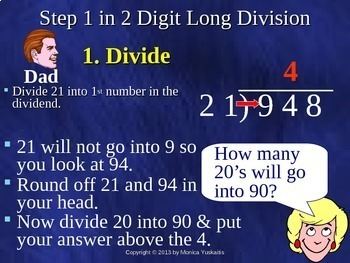 Common Core 6th - Division 3 - Dividing 4 Digits by 2 Digits