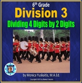 6th Grade Division 3 - Dividing 4 Digits by 2 Digits Power