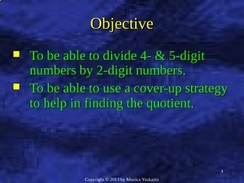 Common Core 6th - Division 4 - Strategy for Difficult Division