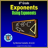 6th Grade Exponents Powerpoint Lesson