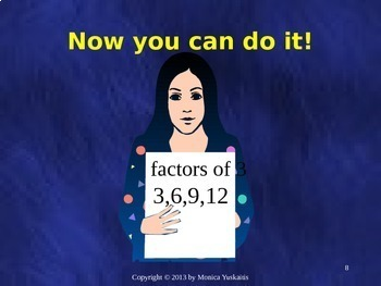 Common Core 6th - Fractions 1 - Greatest Common Factor & Simplifying