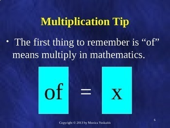 Common Core 6th - Fractions 5 - Multiplying Fractions (Whole, Fractions, Mixed)