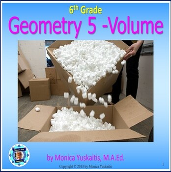 Common Core 6th - Geometry 5 - Volume