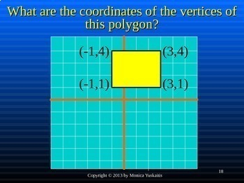 Common Core 6th - Geometry 6 - Polygons in the Coordinate Plane