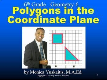Common Core 6th - Geometry Bundle - 8 Lessons