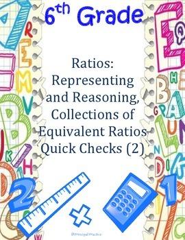 6th Grade Ratio Quick Checks