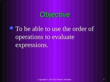 Common Core 6th - Order of Operations