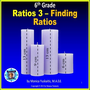 Common Core 6th - Ratios 3 - Finding Ratios