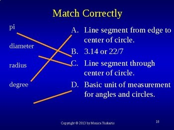 Common Core 7th Geometry 6 - Area of Circles