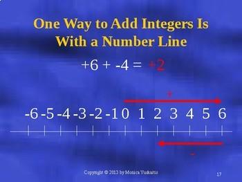 Common Core 7th Integers 2 - Adding Integers