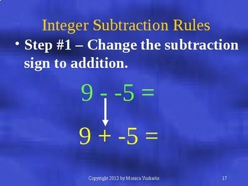 Common Core 7th Integers 4 - Multiplying and Dividing Integers