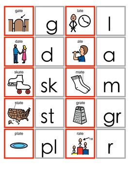Common Core ATE Word Family Activity for Language Arts