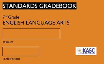 Common Core Academic Standards Gradebook 7th Grade English/Language Arts