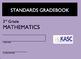Common Core Academic Standards Gradebook 3rd Grade Math