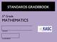 Common Core Academic Standards Gradebook 5th Grade Math