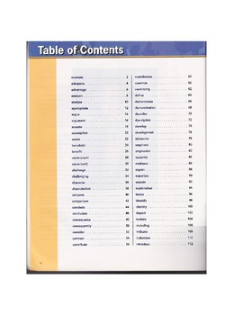 Common Core Academic Vocabulary Lessons Part 1 (100 words)