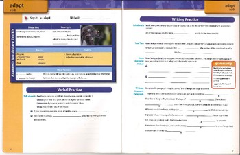 Common Core Academic Vocabulary Lessons Part 2 (100 words)