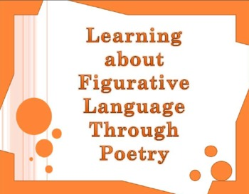 Common Core Activities:  Using Poetry to Teach Figurative