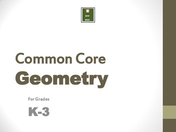 Activities for 2-D Geometry for K-3: Common Core Based